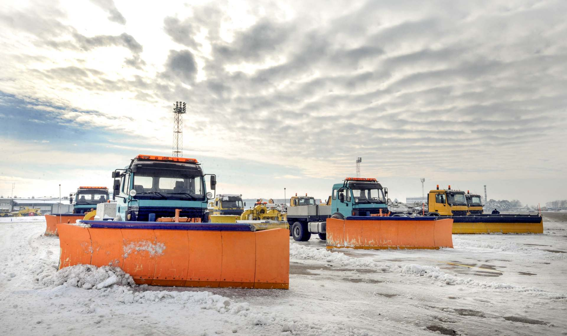 Snow Removal Vehicles