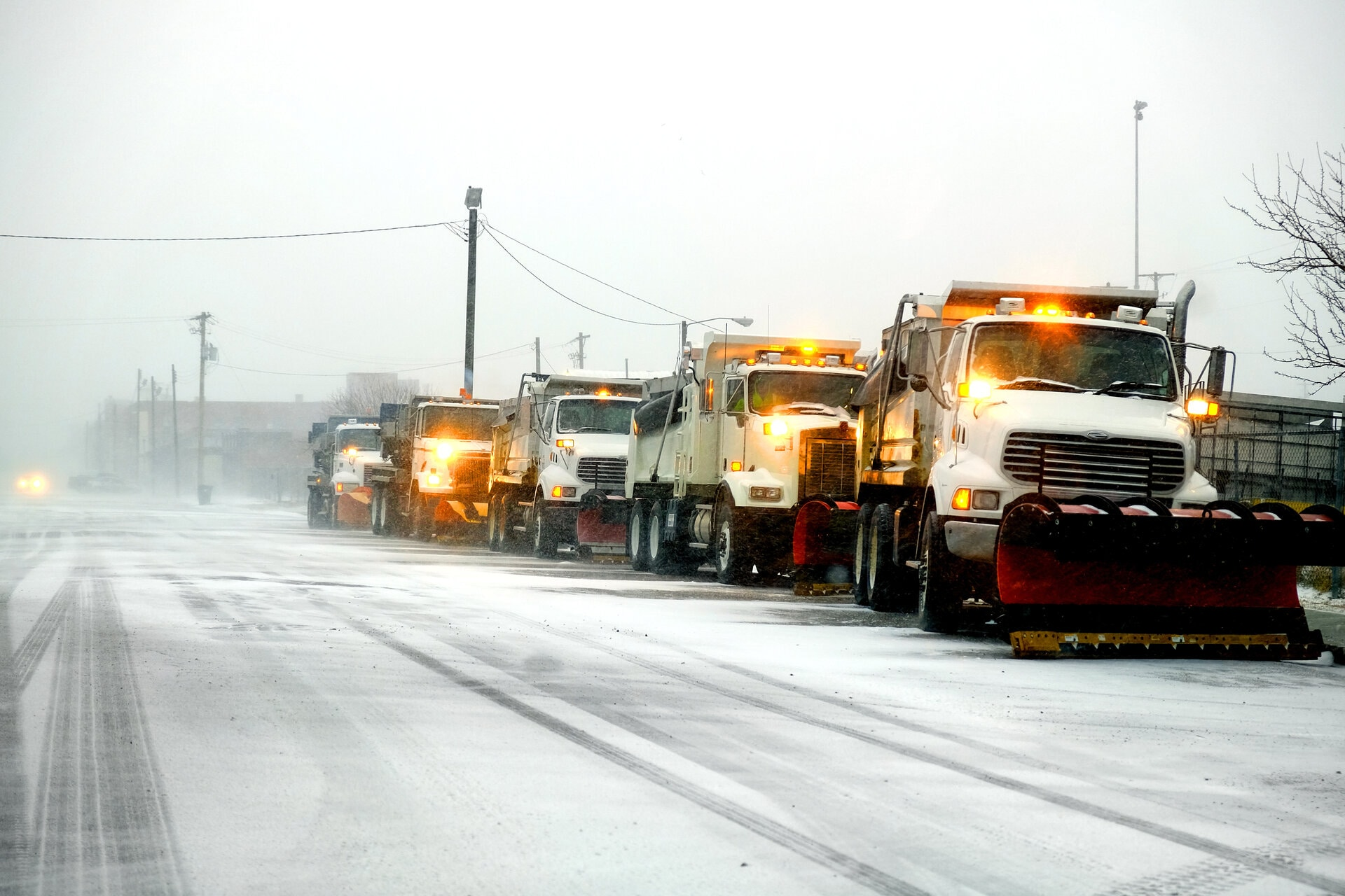Commercial snow removal in Calgary