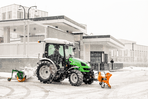 Commercial Snow Tractor