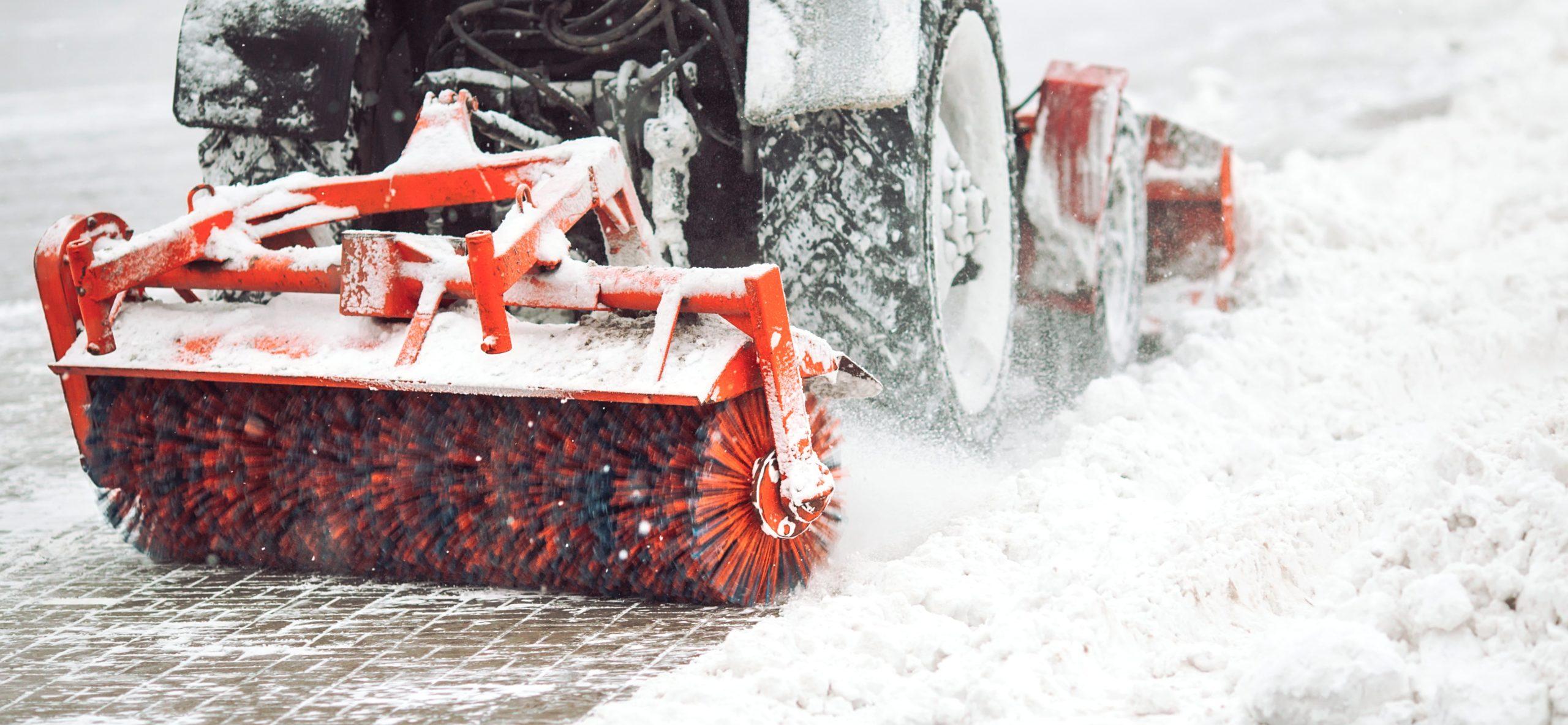 Calgary City Snow Brush